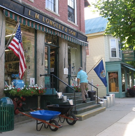 Store in small western Maine town